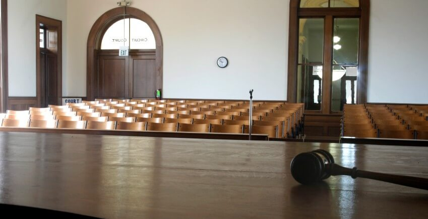 Empty Courtroom Cranfill Sumner Results