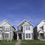 New craftsman style row houses