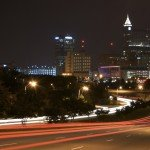 Photo of Downtown Raleigh skyline at Night