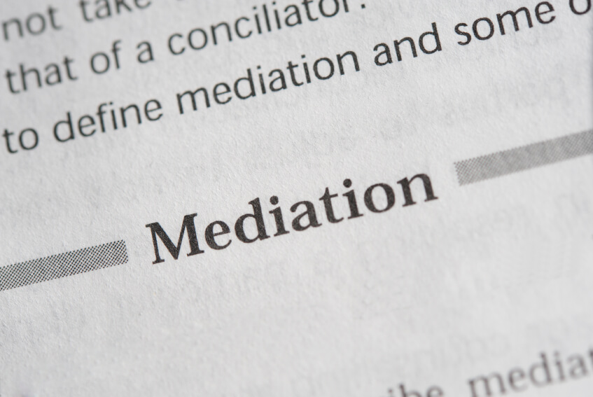 Mediation Document up-close