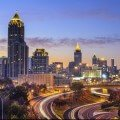 Downtown Atlanta, GA Skyline