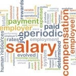 Employee Salary & Compensation Word Cloud